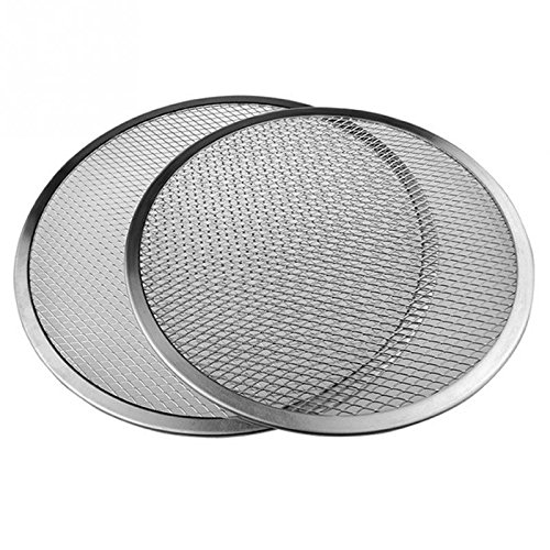 Wall of Dragon Flat Mesh Pizza Screen Oven Baking Tray Net Bakeware Cookware kitchen baking tool by Wall of Dragon (Image #4)