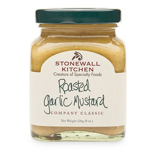 Price comparison product image Stonewall Kitchen Roasted Garlic Mustard,  8-Ounces