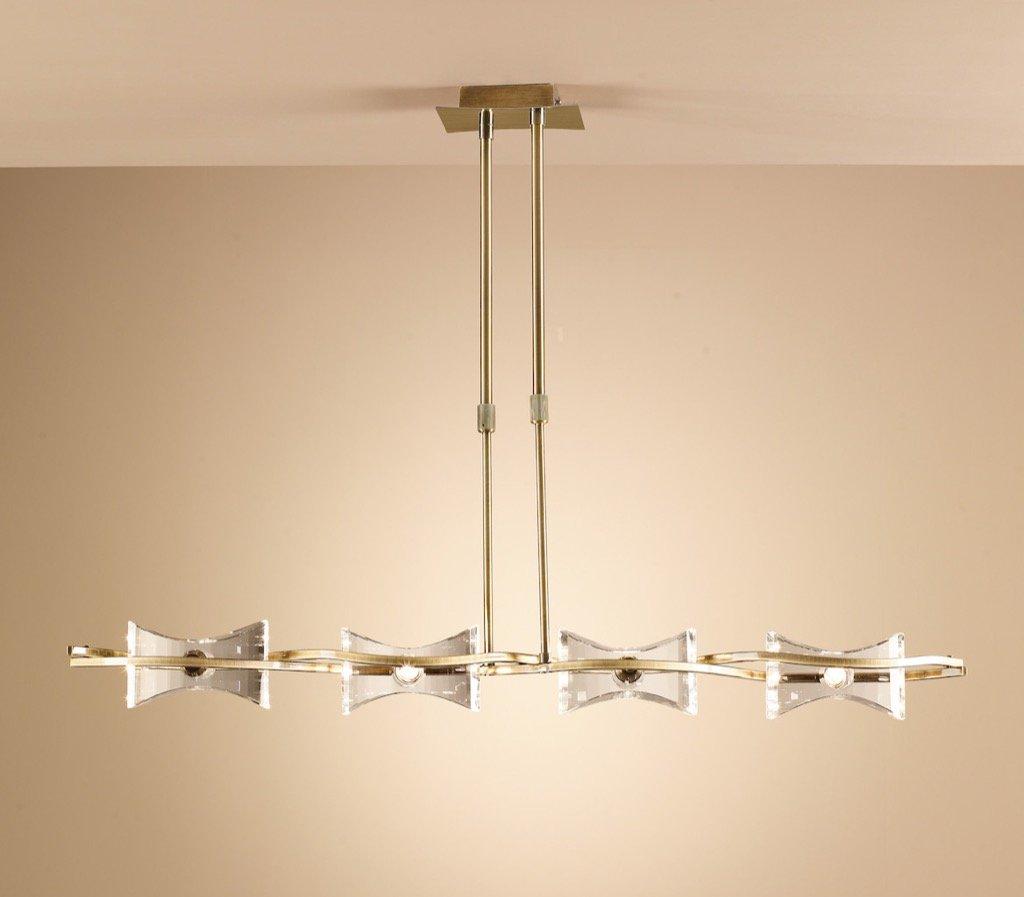 Mantra Krom 0860 - Lámpara de techo (G9, 230 V, latón ...
