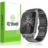 Asus Zenwatch 2 49mm Screen Protector, IQ Shield® LiQuidSkin (6-Pack) Full Coverage Screen Protector for Asus Zenwatch 2 49mm HD Clear Anti-Bubble Film - with Lifetime Warranty