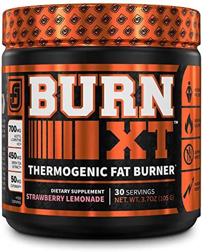 Vitamins & Supplements: Jacked Factory Burn-XT Thermogenic Fat Burner Powder
