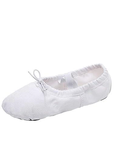 db84415059270 Tookang Chaussure de Ballet Ballerine Chaussure de Danse Chaussures Pilates  Gymnastique Split Plate Ballet Chaussons pour