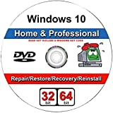 Software : Windows 10 Home and Professional- 32/64 Bit DVD. Recover, Repair, Restore or Re-install Windows to Factory Fresh