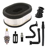 Fits :Stihl 066 064 065 MS650 MS660 Chainsaw Replace part numbers: 1122 120 0623, 1122 120 0621 Package include: 1 air filter, 1 fuel filter, 1 fuel line, 1 oil line, 1 oil filter, 1 intake manifold, 1 impulse hose, 1 spark plug