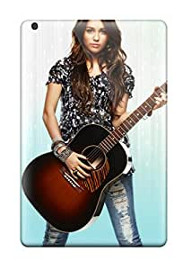 Special Skin Case Cover For Ipad Mini 2, Popular Miley Cyrus & Guitor Phone Case