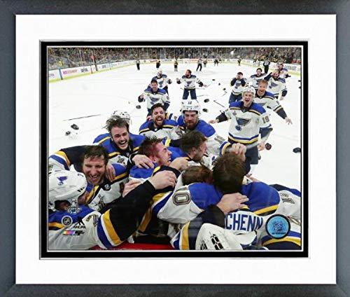 (St. Louis Blues 2019 Stanley Cup Champions Team Celebration Photo (Size: 12.5