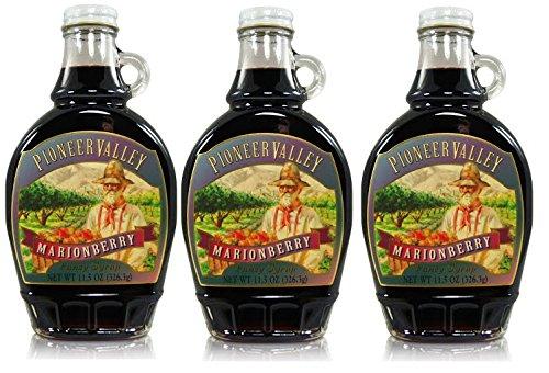 Pioneer Valley Gourmet Marionberry Fancy Syrup 11.5 oz. - 3 pack by Pioneer Valley