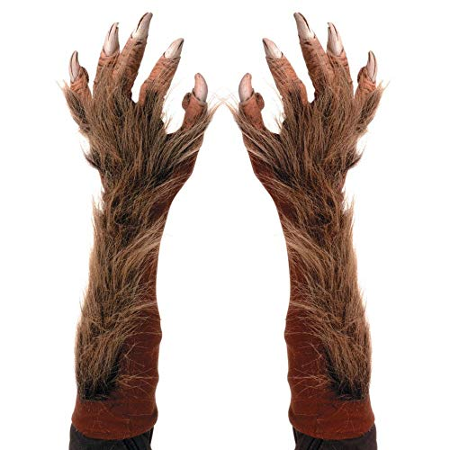 Wolf Costume Gloves -