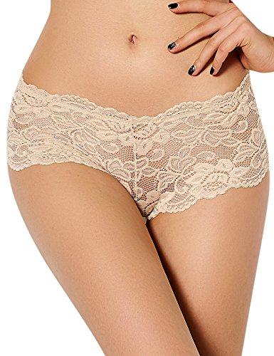 Acvip Underwear Women beige 6 traspirante colori Panty Comfort Lace qfFSrf