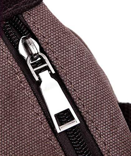 Vintage Dames Tassen Lederen Casual Canvas Bruin Eenvoudig Tas Handtassen Crossbody voor Mode Comfortabele Handvat Daqao Jeugd Bqd6Bx