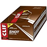 CLIF SHOT - Energy Gel - Chocolate - No Caffeine (1.2 Ounce Packet, 24 Count)
