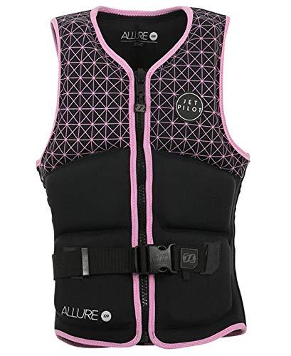 JETPILOT(ジェットパイロット) 2019年モデル☆レディース ALLUREネオベストブラック*ピンク サイズ10(胸囲/80-85cm)  B07L5DLYBG