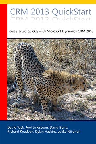 CRM 2013 QuickStart: Jumpstart Your Dynamics CRM 2013 Learning Curve Pdf