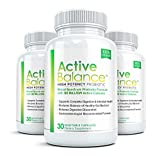 Active Balance – Pharmaceutical Grade Probiotic Supplement (3 bottle) – Contains 50 billion CFU's For Sale