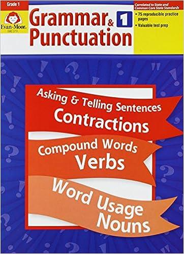 Amazon.com: Grammar and Punctuation, Grade 1 (9781557998453): Evan ...