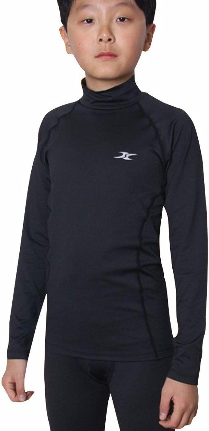 Campri Kids Junior Thermal Ski Baselayer Shirt Top Long Sleeve Girls Boys