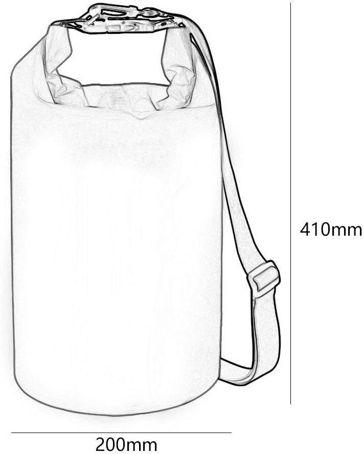 SZHSM Naht Strandtasche Im Freien Wasserdicht Schwimmen Schnorcheln Reise Handy Meer Upstream Rafting DREI Farben 200 * 410mm (Farbe : Orange) Blau