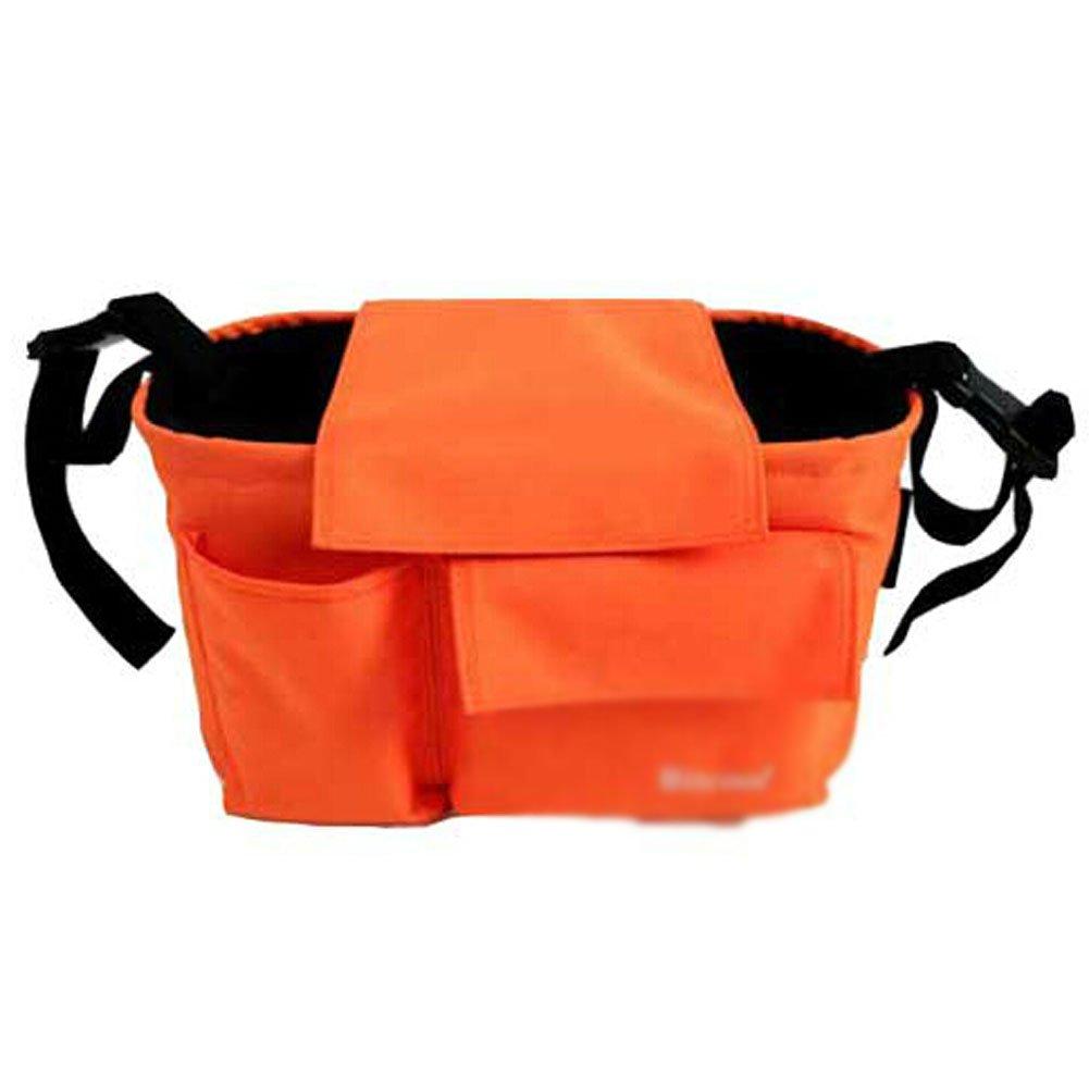 ORANGE Baby Infant Stroller Parent Cup Holder Bag Toddler Jogger Liquid Holster