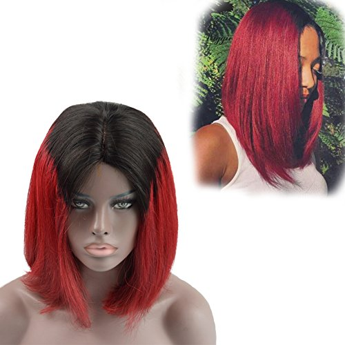 Dlingli Hair New Hairstyle Sexy Silk Straight Omber Short...