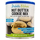 Diabetic Kitchen Nut Butter Cookie Mix Makes The Moistest, Chewiest, No-Guilt Cookies Ever ● Low Carb, Keto-Friendly, Gluten-Free, 7g of Fiber, No Added Sugar, No Artificial Sweeteners
