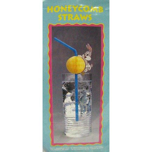 Baby Looney Tunes Bugs Bunny Honeycomb Straws (8ct)