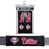 Fremont Die MLB Philadelphia Phillies Seat Belt Pad (Pack of 2), One Size, White