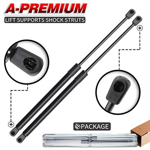 (A-Premium Hood Bonnet Lift Supports Shock Struts for Mercedes Benz E320 E420 E430 E55 AMG 1998-2003 W210 Series 2-PC Set)