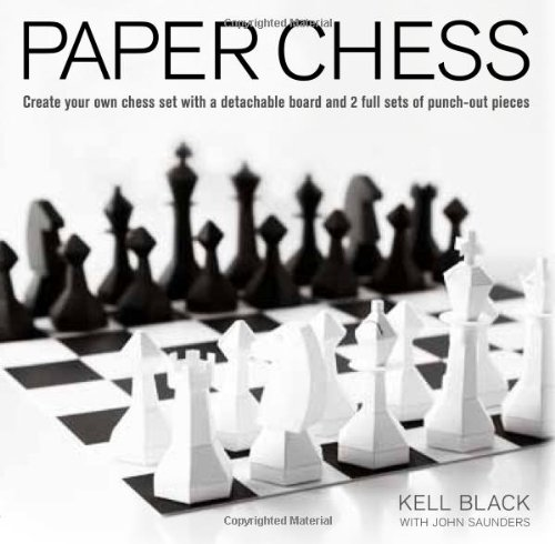 Paper Chess: Create Your Own Chess Set with a Detachable Board and 2 ...