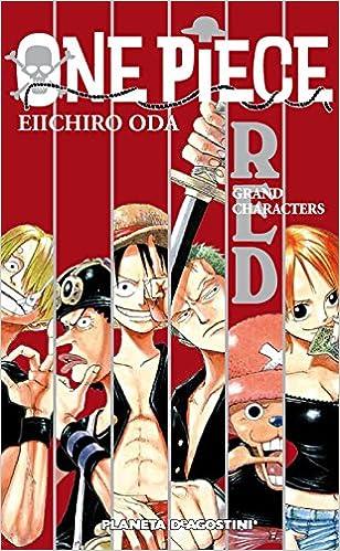 One Piece Guía Nº 01 Red: Gran Characters por Eiichiro Oda