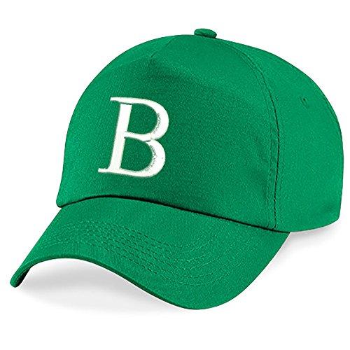 Kelly Hat Verde Escuela A Niños B Z 4sold Alphabet Gorra Bordado Niños z17Oq7