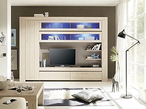 Pareti Soggiorno Beige : Web convenienza palmira rovere beige parete attrezzata soggiorno
