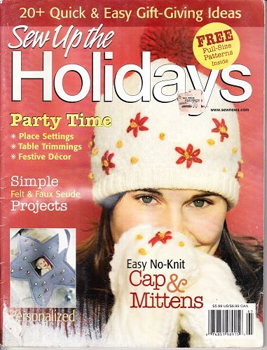 (Holiday 2006 Sew News Gifts To Make Home Decorating Ideas Peppermint Party Hot Ornaments Reindeer Games Holiday Traditions Pet Pampering)