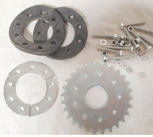 (80cc Motor bicycle GAS ENGINE parts - 28 teeth flat sprocket with mount Z)