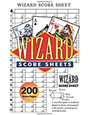 Wizard Score Sheets: V.4 Wizard Card Game Score Pads | Wizard Scorebook | Small size 6*9 inch 200 Pages