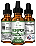 Cheap Hemp Oil 1000mg All-Natural Anti Anxiety Relief, Depression, Stress Relief, Mood Support, Hemp Oil for Pain Relief, Inflammation, Sleep, Hair, NO THC, Rich in MCT Fatty Acids 1 Fl Oz Mint Flavor