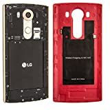 LG V10 Case, LG V10 leather Back Case, LG V10 Glass Screen Protector, Aomax Qi Wireless Charging Receiver IC Chip With NFC