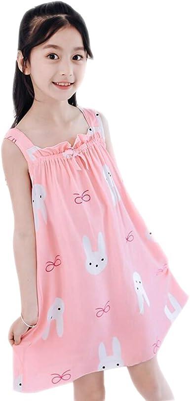 Camisón Niña Sin Mangas Estampados Camisones Algodon Verano Princesa Pijamas Niñas: Amazon.es: Ropa y accesorios