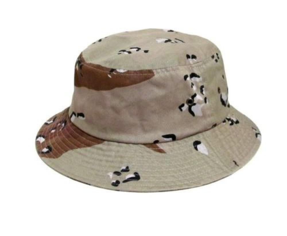 Easy-W Dt Camo 100% Cotton Hat Cap Bucket Boonie Unisex