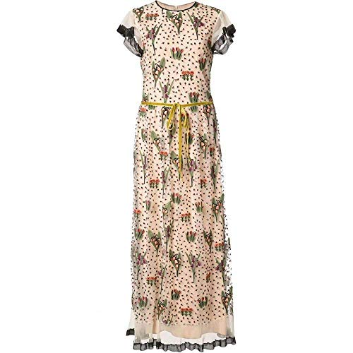 Red Valentino Floral Embroidery Long Dress MR3VA04N -