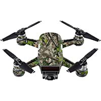 Skin For DJI Spark Mini Drone – Htc Green | MightySkins Protective, Durable, and Unique Vinyl Decal wrap cover | Easy To Apply, Remove, and Change Styles | Made in the USA