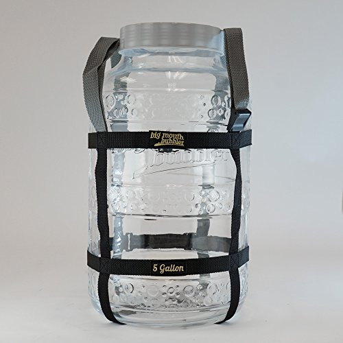 Carboy Carry Harness Strap For 5 Gallon Glass Big Mouth Bubbler - Fits First Generation & EVO2 Big Mouth Bubbler