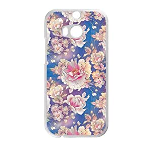 Creative Flower Cell Phone Case For HTC M8