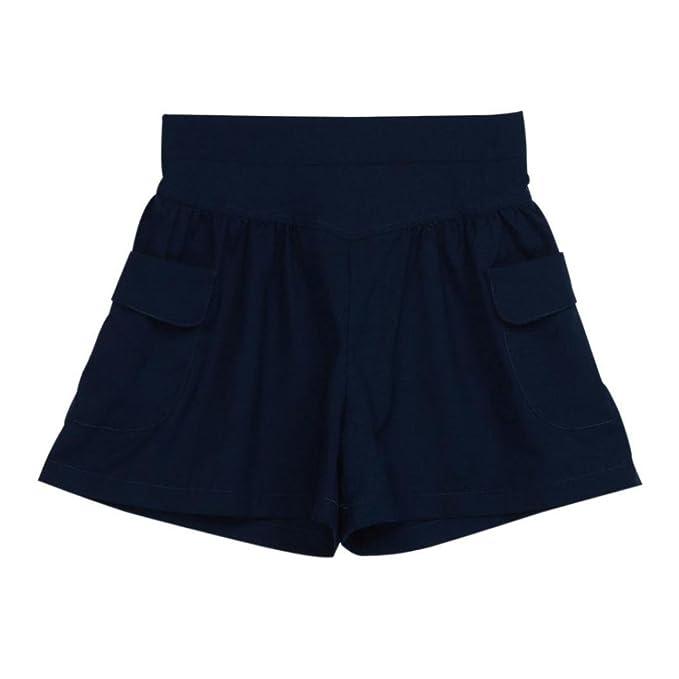 QinMM Pantalones Cortos de Suelto para Mujer Talla Grande, Leggings de Deportes Yoga Ejercicio Running pantalón