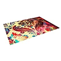 Kess InHouse Caleb Troy Galaxy Tapestry Outdoor Floor Mat/Rug, 4 by 5-Feet