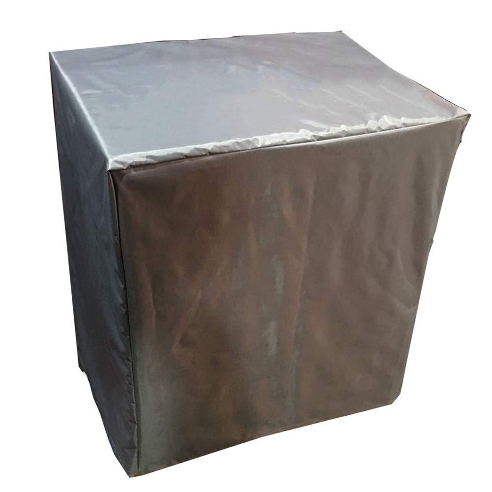 AJZGF Im Freien Sonnenschutz-Regenschutz im Freien Wasserdichte und Winddichte Gesichtsmaske (Farbe : grau, größe : 180x180x90cm)