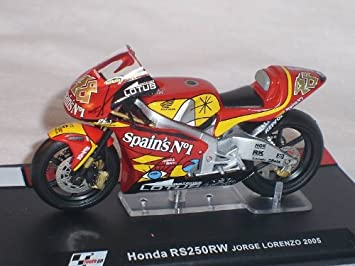 Ixo Hon Da Rs250rw Rs 250 Rw Jorge Lorenzo 2005 Motogp 1 24 Altaya By Modellmotorrad Modell Motorrad Sonderangebot Spielzeug
