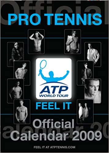 Atp Calendar.Official Tennis Mens Atp Tour Calendar 2009 9781906211646 Amazon