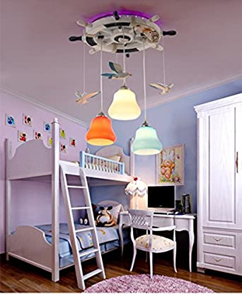 Kinderzimmer Kronleuchter Mittelmeer Rudder Seagull Schlafzimmer ...