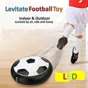 Hover Ball For Kids Toys.Air Power Soccer Ball.Hover Soccer Football With Soft Foam Edging Powerful Led Light For Indoor And Outdoor Games.Boys And Girls Gift.