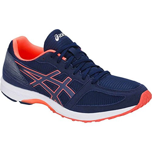 cheap sale with credit card free shipping get authentic ASICS T8B0N Men's Lyteracer TS 7 Running Shoe Indigo Blue/White/Flash Coral cheap real cheap amazing price wMxu9w